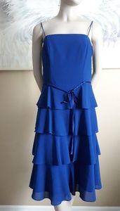 S.L. Fashion Spaghetti strap Ruffles Dress size 10